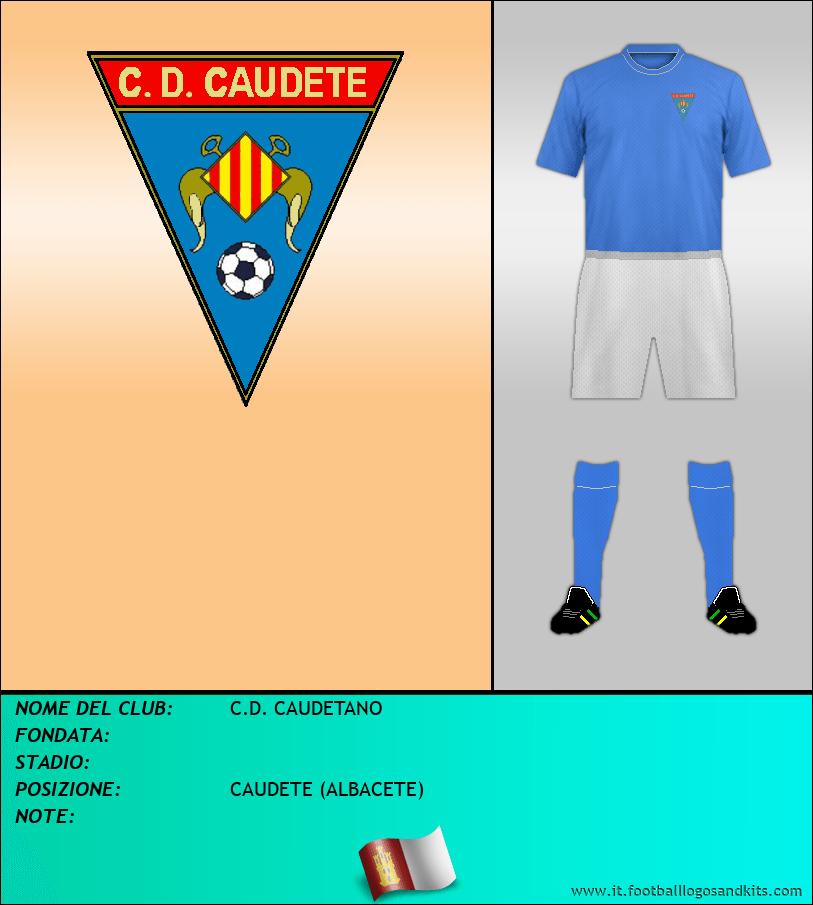 Logo di C.D. CAUDETANO