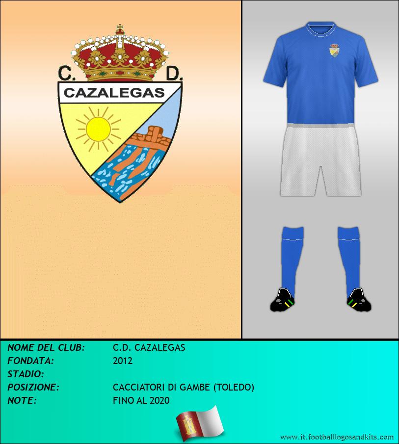 Logo di C.D. CAZALEGAS