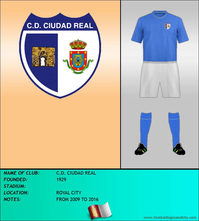 Logo of C.D. CIUDAD REAL