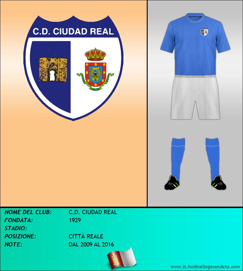Logo di C.D. CIUDAD REAL