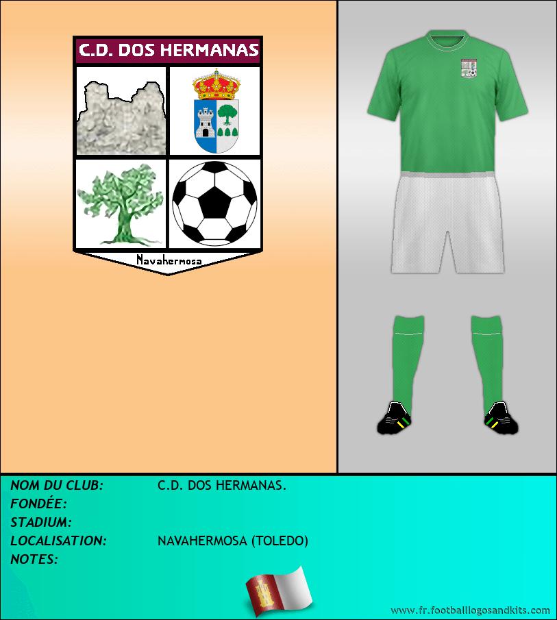 Logo de C.D. DOS HERMANAS.