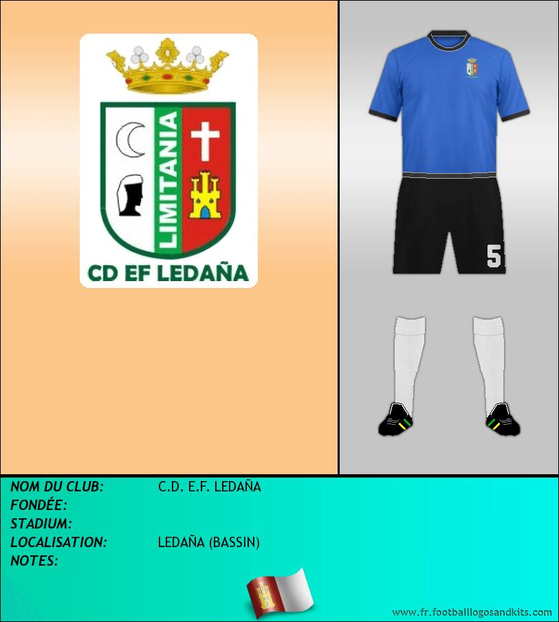 Logo de C.D. E.F. LEDAÑA