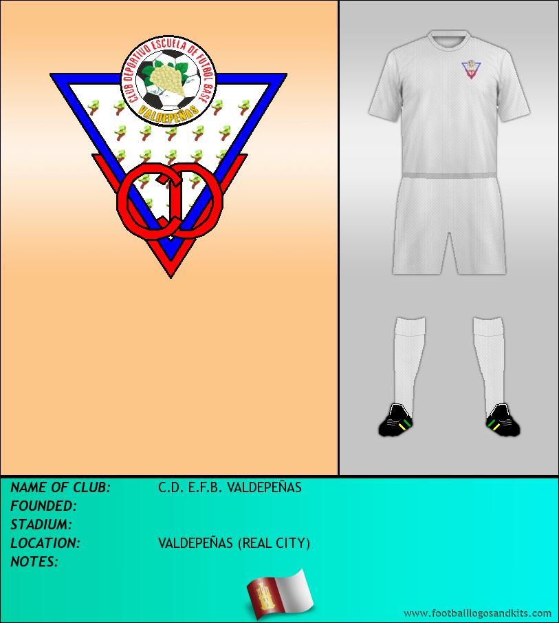 Logo of C.D. E.F.B. VALDEPEÑAS