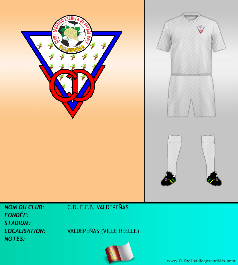 Logo de C.D. E.F.B. VALDEPEÑAS