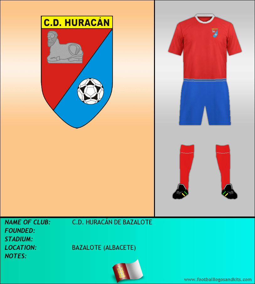 Logo of C.D. HURACÁN DE BAZALOTE