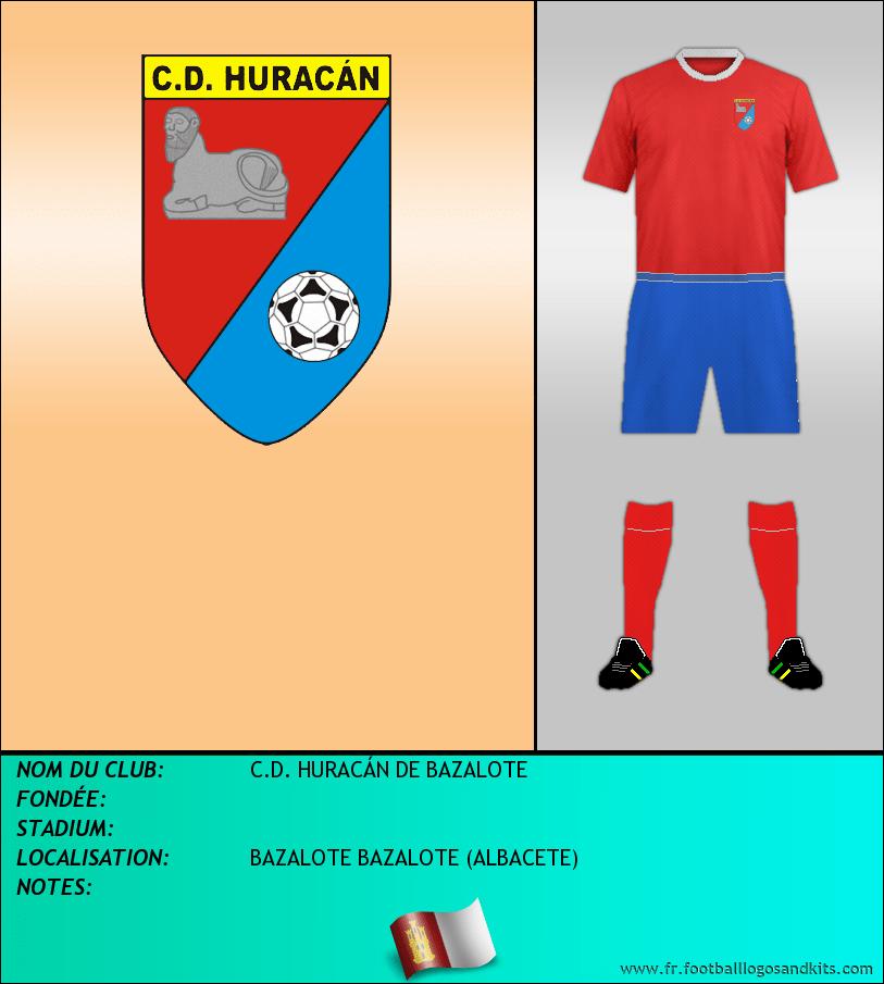 Logo de C.D. HURACÁN DE BAZALOTE
