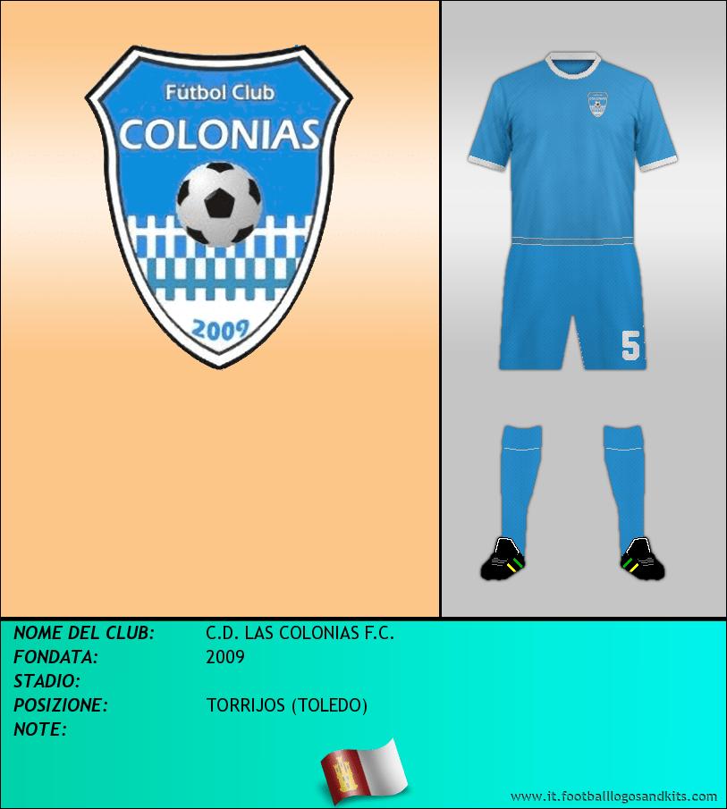 Logo di C.D. LAS COLONIAS F.C.