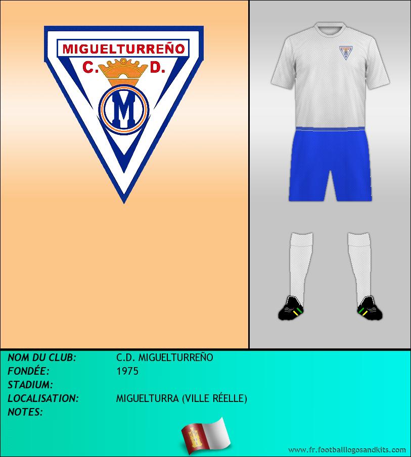 Logo de C.D. MIGUELTURREÑO