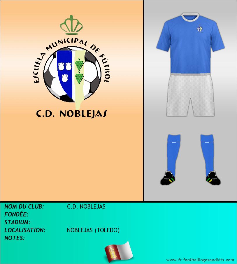 Logo de C.D. NOBLEJAS