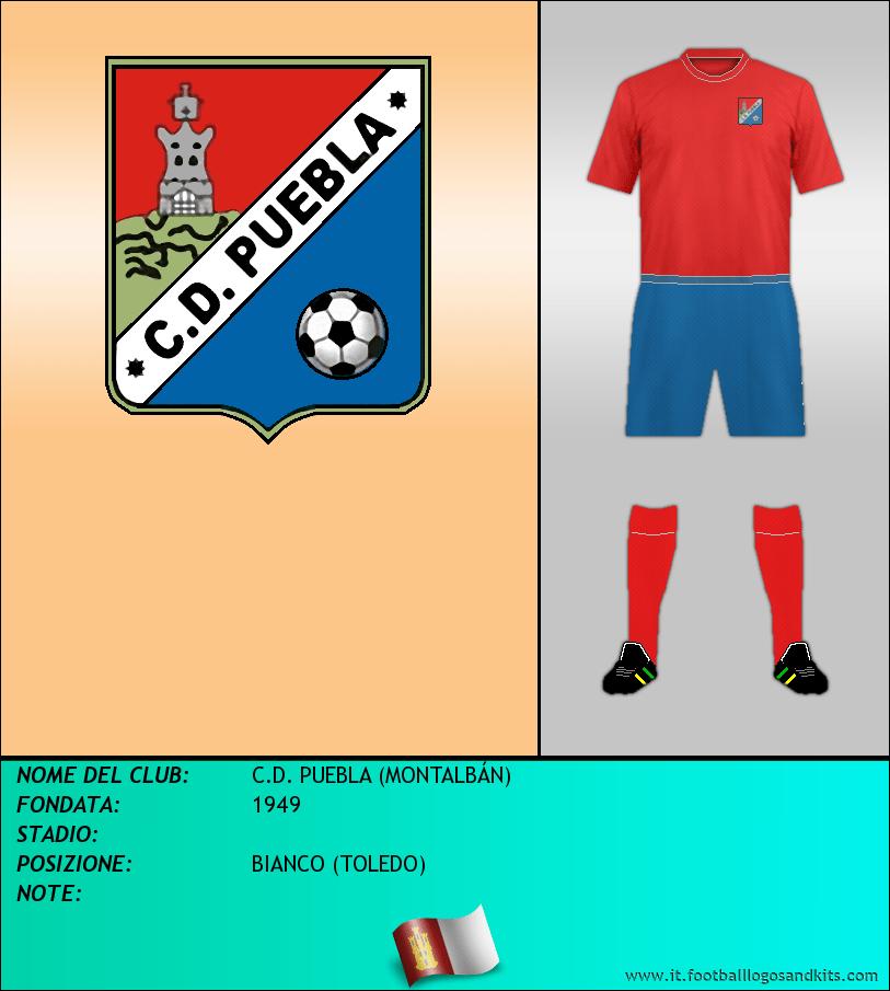 Logo di C.D. PUEBLA (MONTALBÁN)