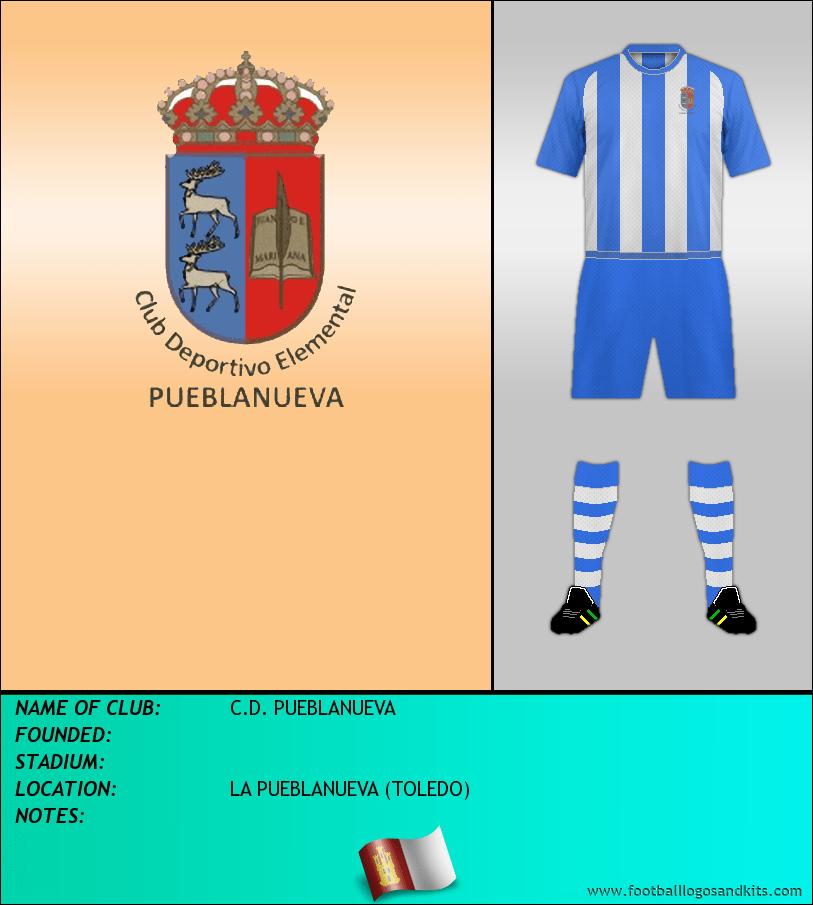 Logo of C.D. PUEBLANUEVA