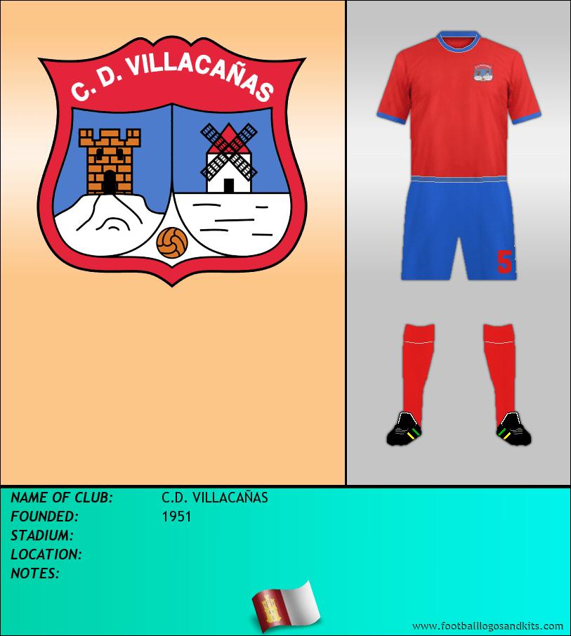 Logo of C.D. VILLACAÑAS
