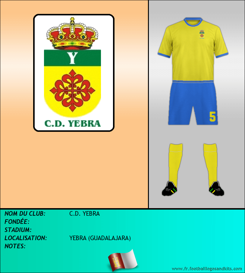 Logo de C.D. YEBRA