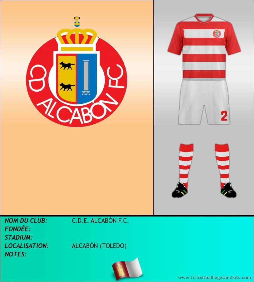 Logo de C.D.E. ALCABÓN F.C.