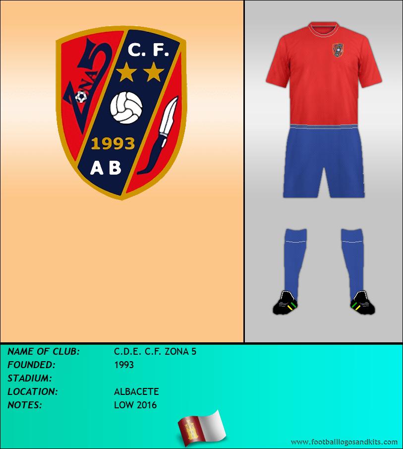 Logo of C.D.E. C.F. ZONA 5