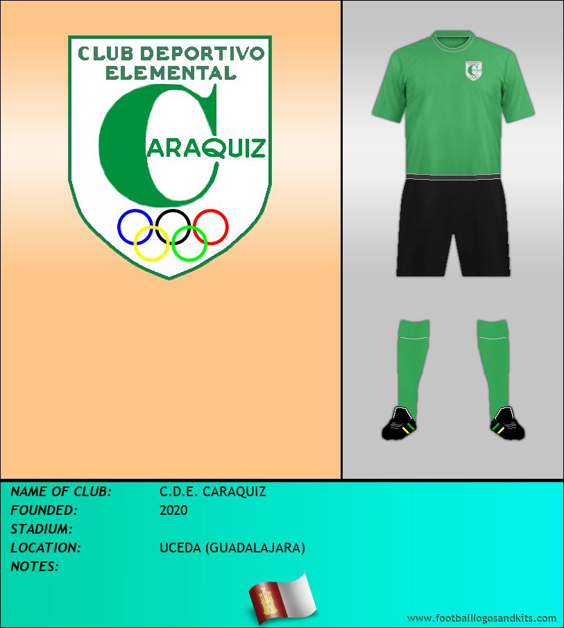 Logo of C.D.E. CARAQUIZ