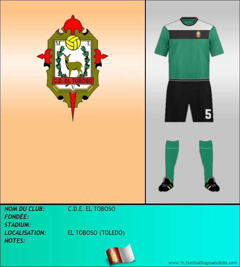 Logo de C.D.E. EL TOBOSO