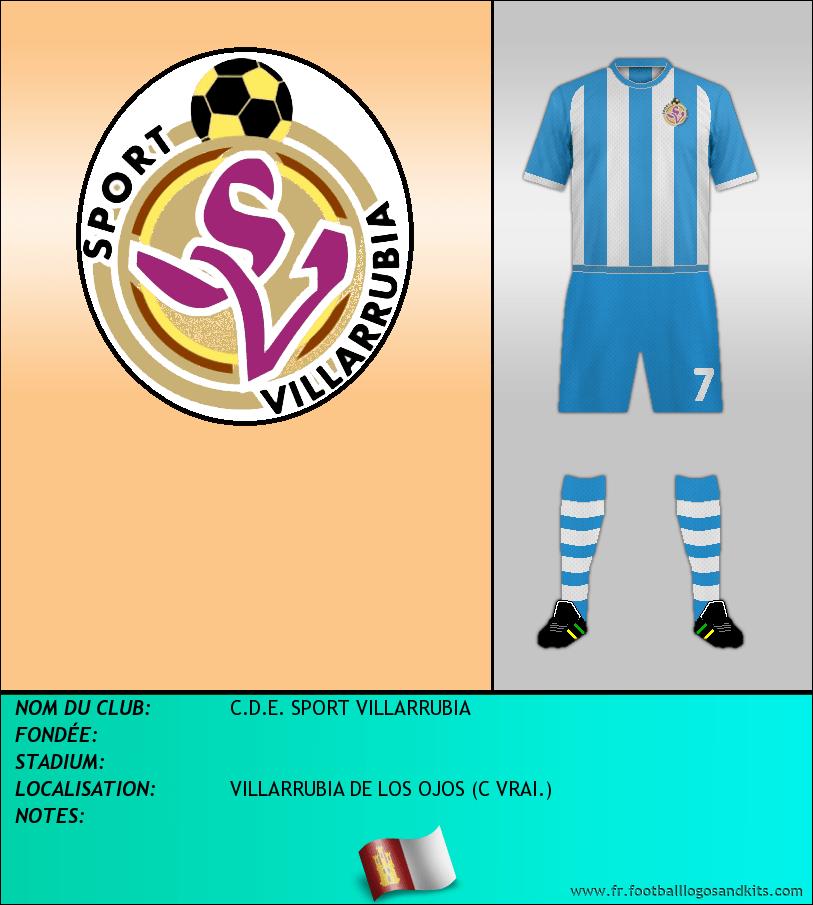 Logo de C.D.E. SPORT VILLARRUBIA