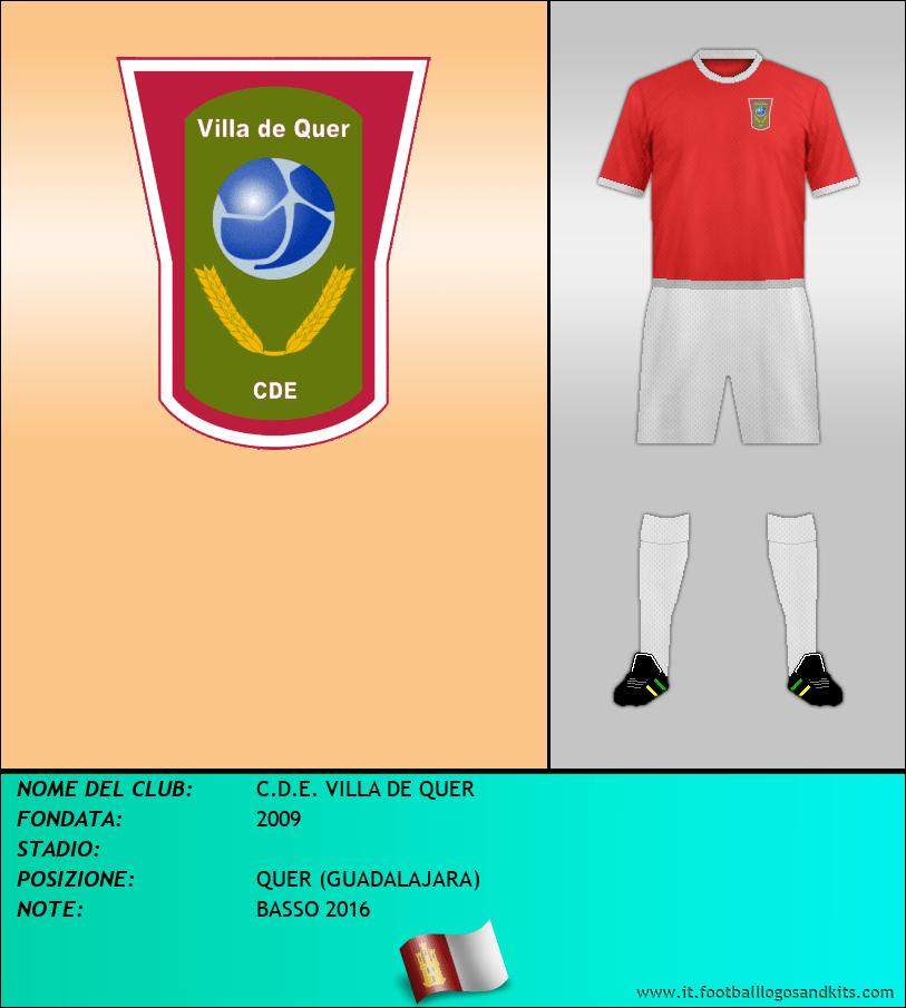 Logo di C.D.E. VILLA DE QUER