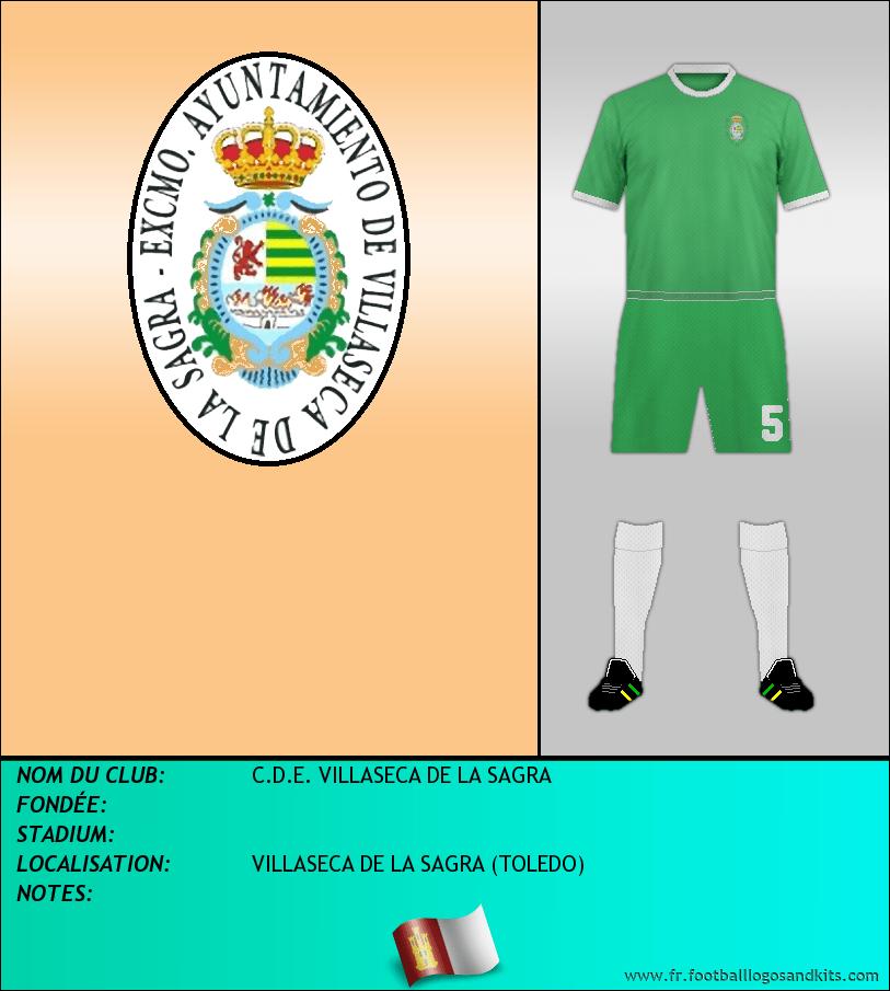 Logo de C.D.E. VILLASECA DE LA SAGRA