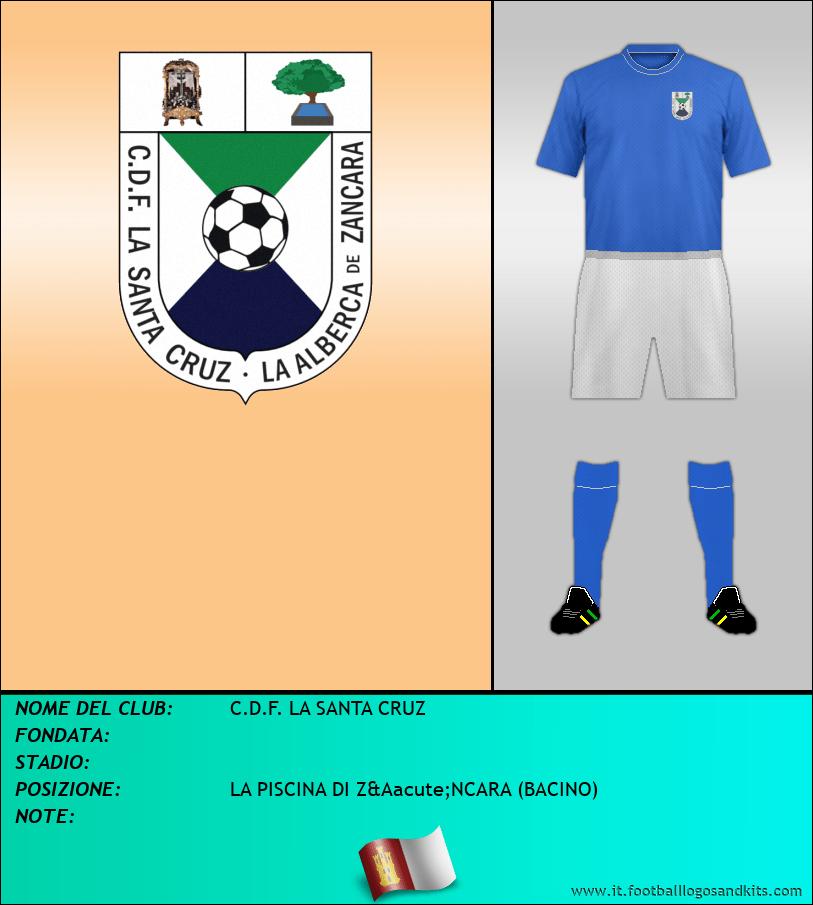 Logo di C.D.F. LA SANTA CRUZ
