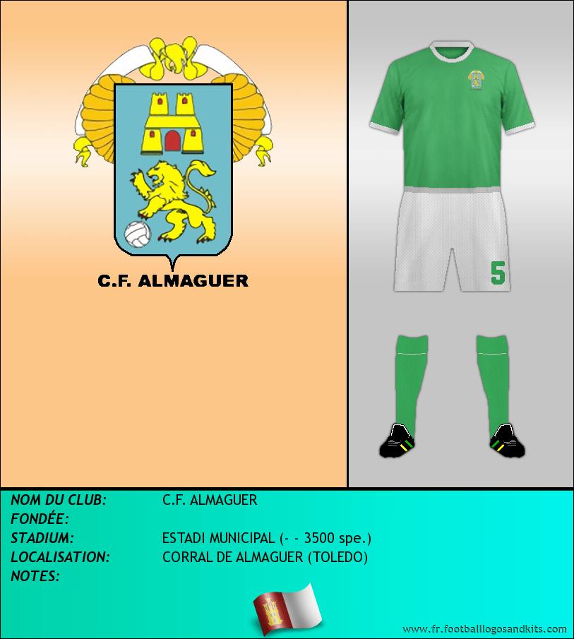 Logo de C.F. ALMAGUER