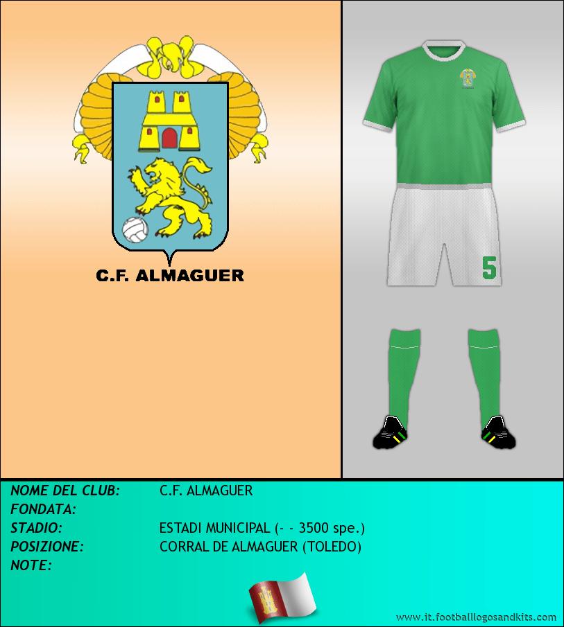 Logo di C.F. ALMAGUER