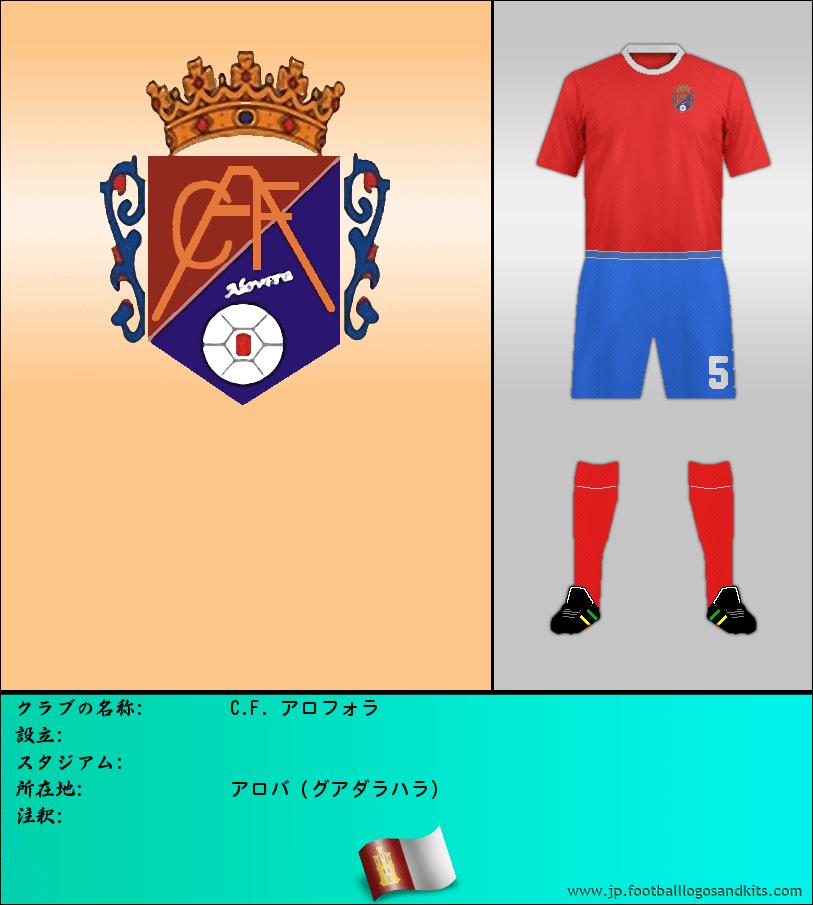 のロゴC. F. ALOVERA