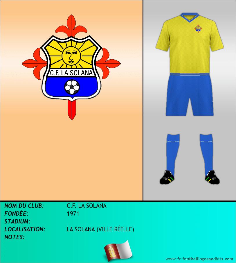 Logo de C.F. LA SOLANA
