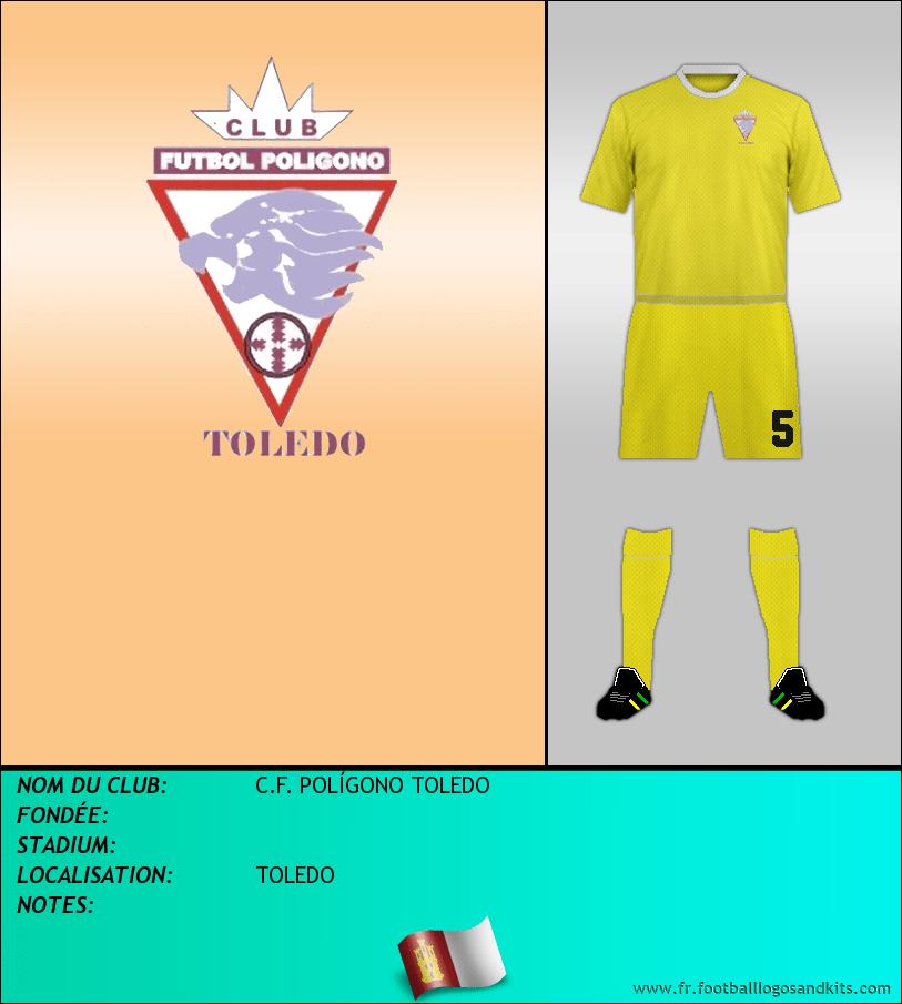 Logo de C.F. POLÍGONO TOLEDO