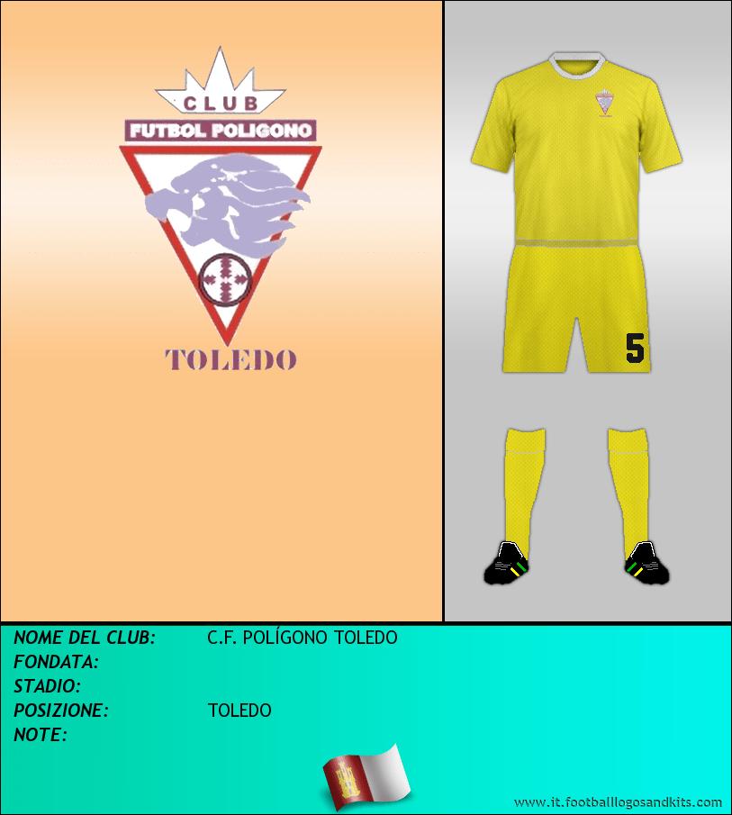 Logo di C.F. POLÍGONO TOLEDO