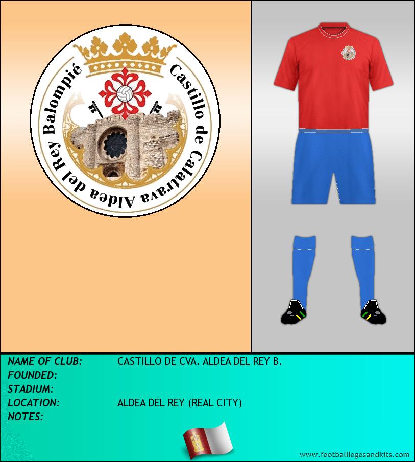 Logo of CASTILLO DE CVA. ALDEA DEL REY B.
