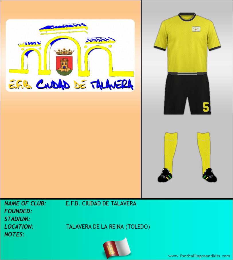 Logo of E.F.B. CIUDAD DE TALAVERA