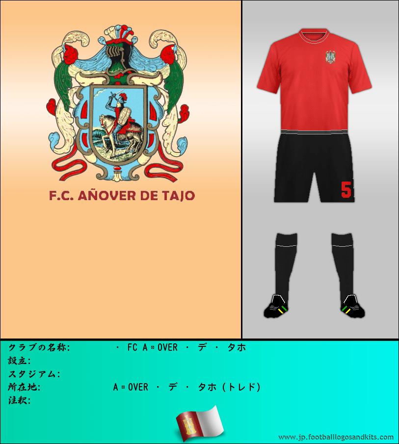 のロゴ・ FC AÑOVER ・ デ ・ タホ