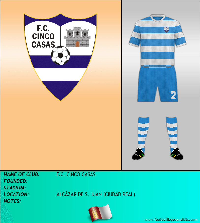 Logo of F.C. CINCO CASAS