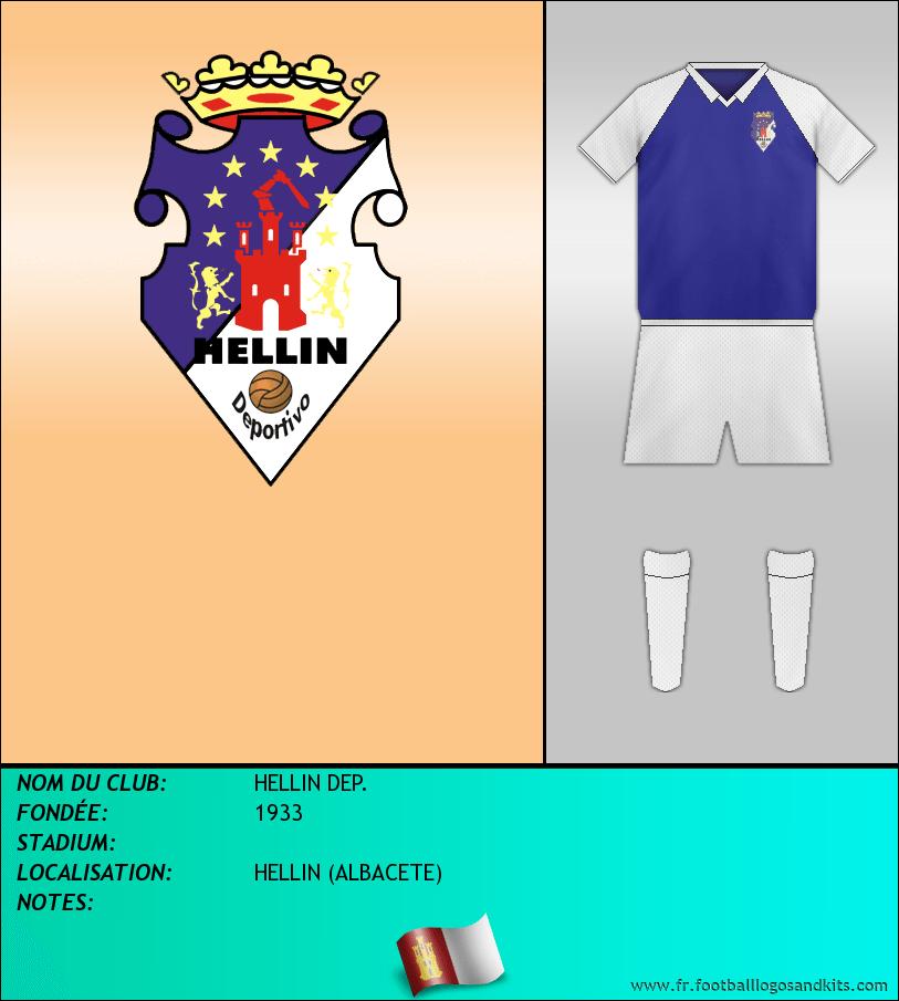 Logo de HELLIN DEP.