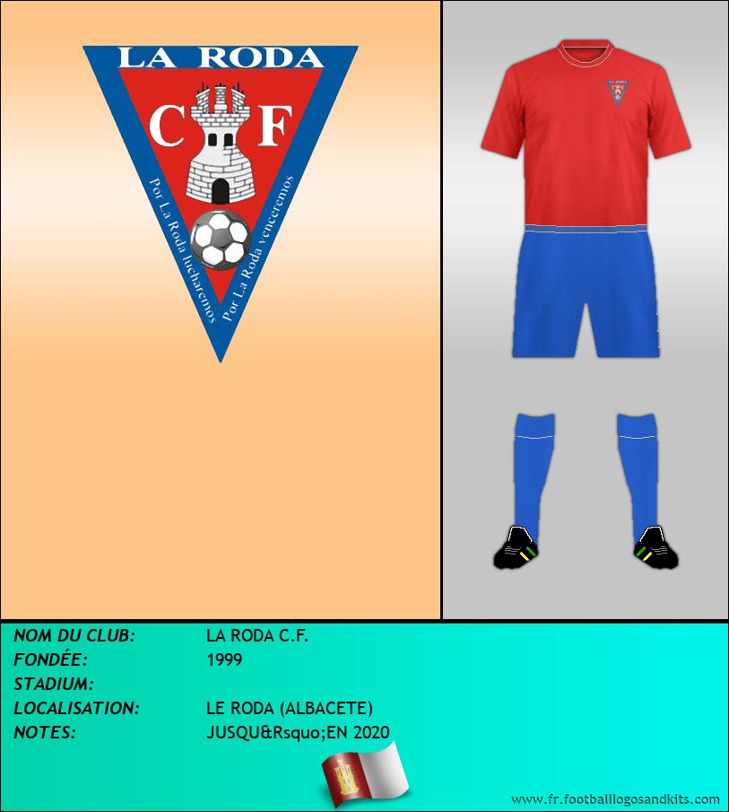 Logo de LA RODA C.F.