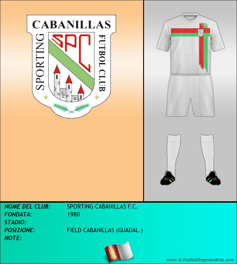Logo di SPORTING CABANILLAS F.C.
