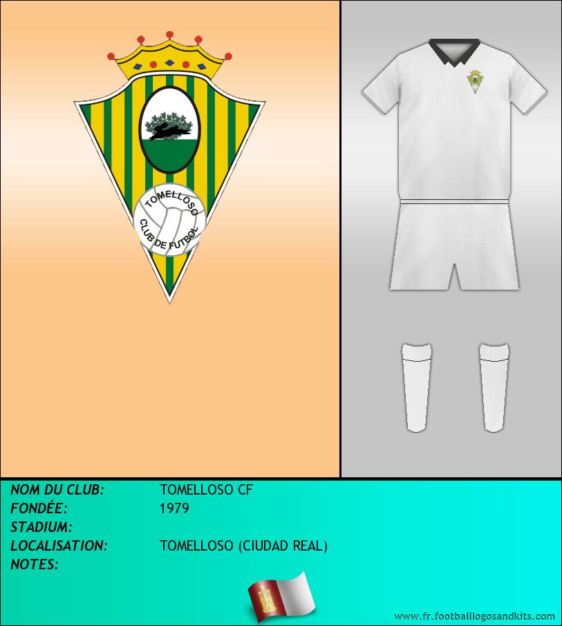 Logo de TOMELLOSO CF