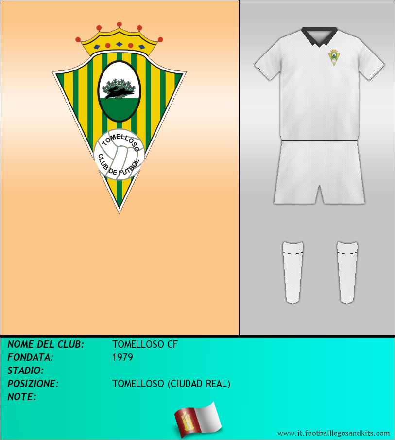 Logo di TOMELLOSO CF