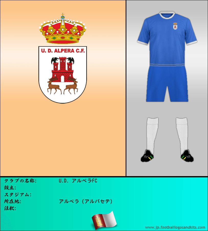 のロゴU.D. ALPERA C. F.