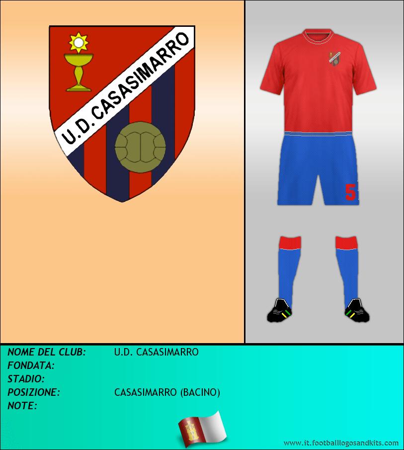 Logo di U.D. CASASIMARRO