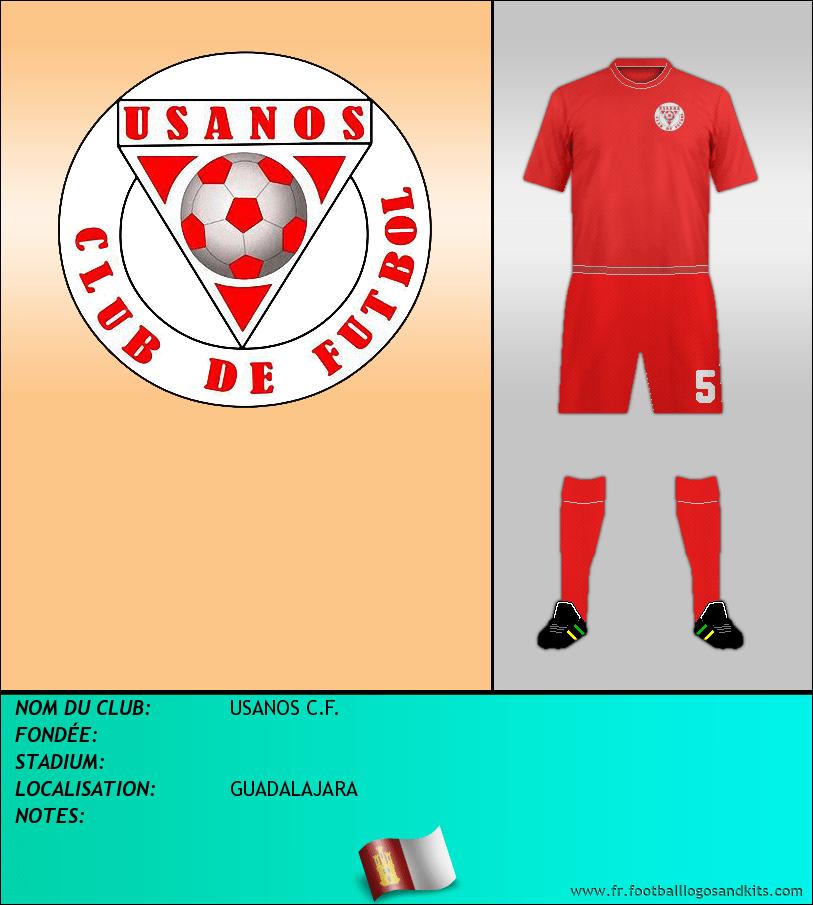 Logo de USANOS C.F.