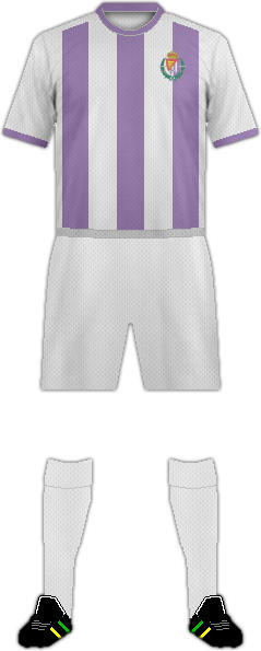 Kit REAL  VALLADOLID