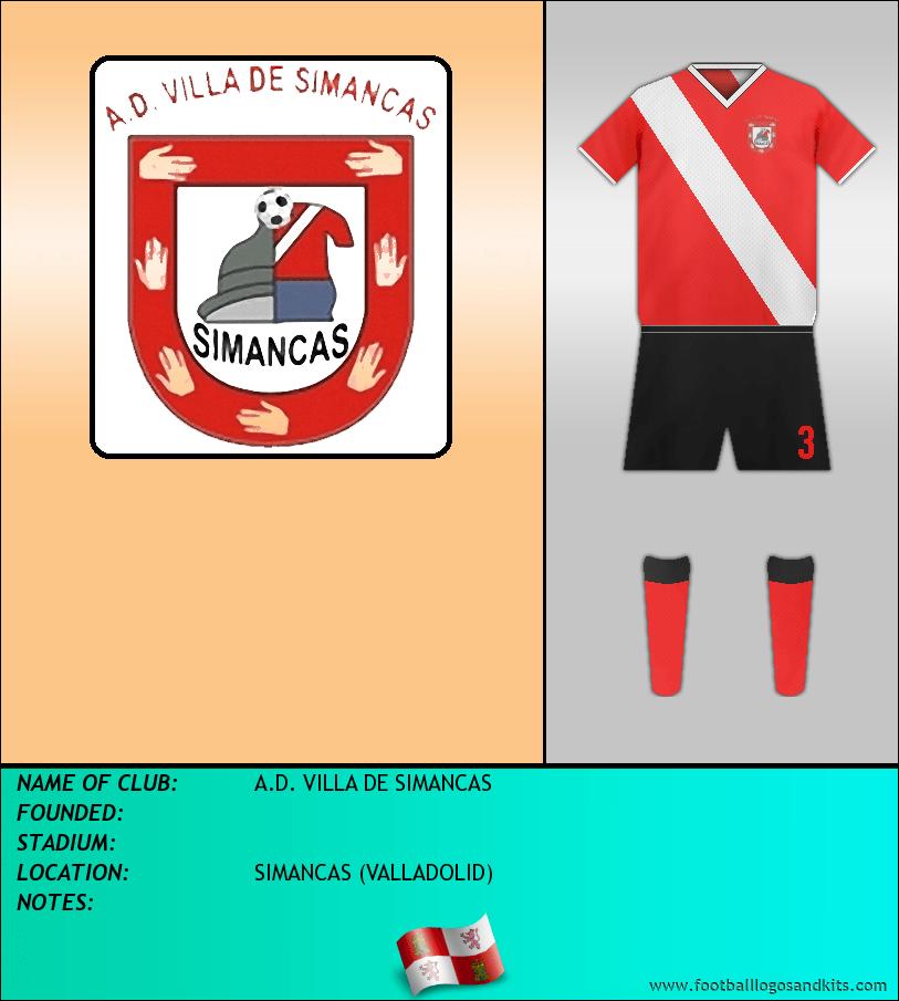 Logo of A.D. VILLA DE SIMANCAS