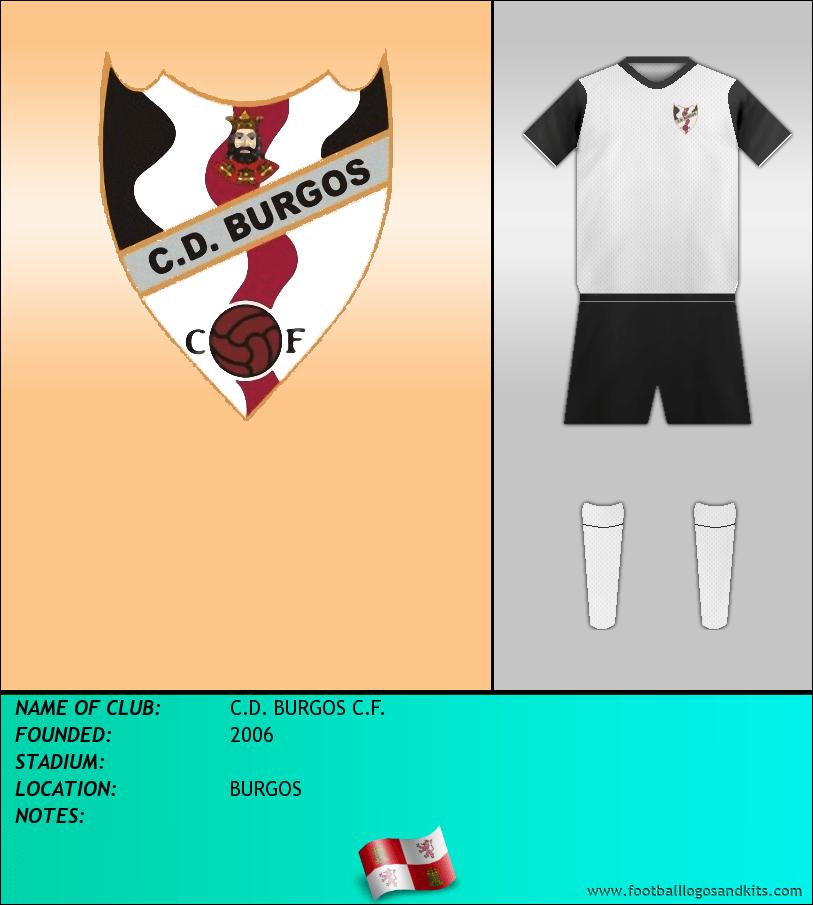 Logo of C.D. BURGOS C.F.