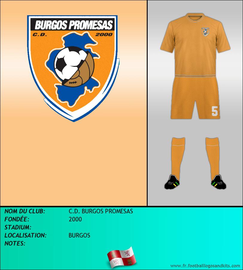 Logo de C.D. BURGOS PROMESAS