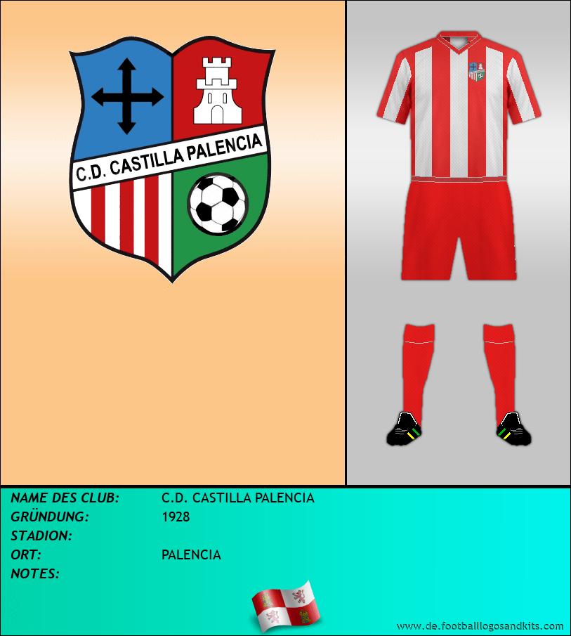 Logo C.D. CASTILLA PALENCIA