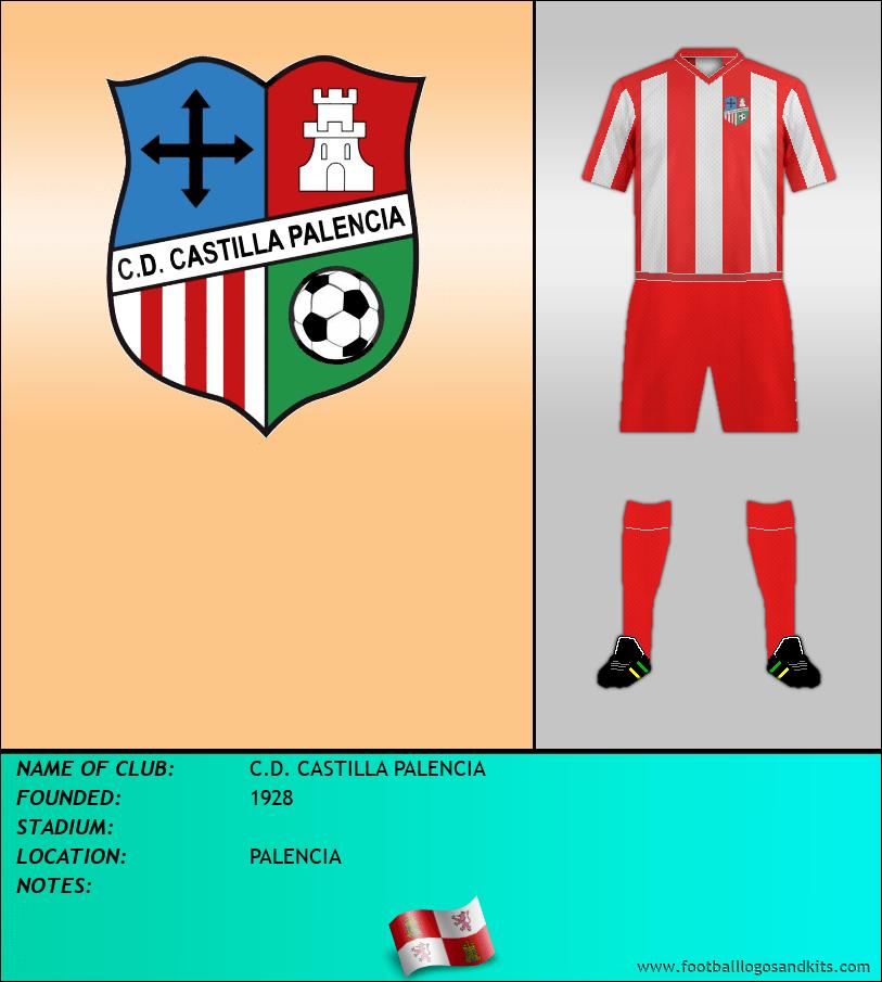 Logo of C.D. CASTILLA PALENCIA