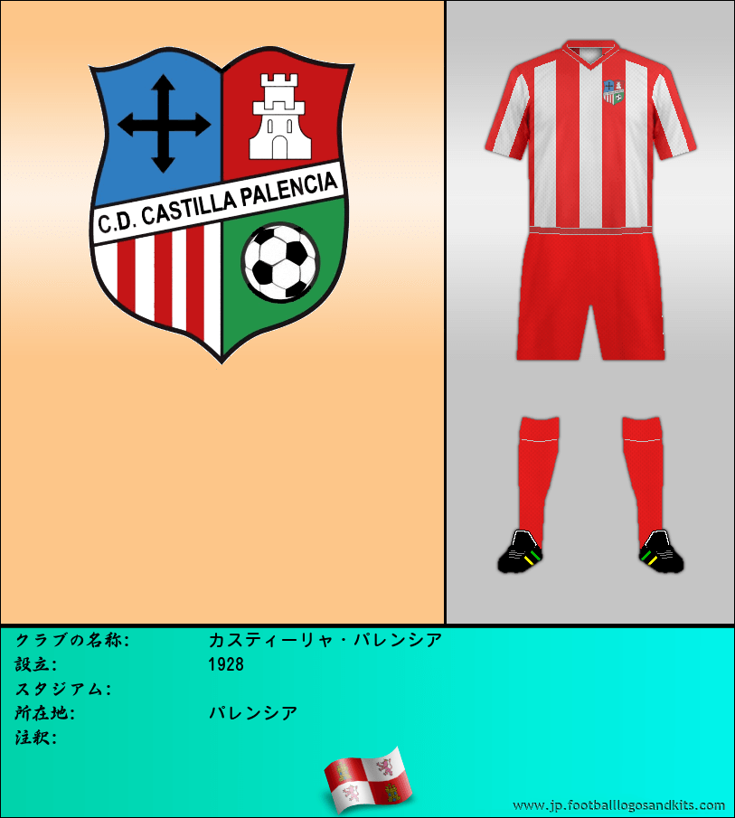 のロゴC.D. カスティーリャ パレンシア